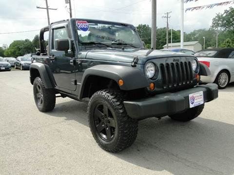 2007 Jeep Wrangler for sale at I-80 Auto Sales in Hazel Crest IL