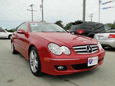 2006 Mercedes-Benz CLK for sale at I-80 Auto Sales in Hazel Crest IL