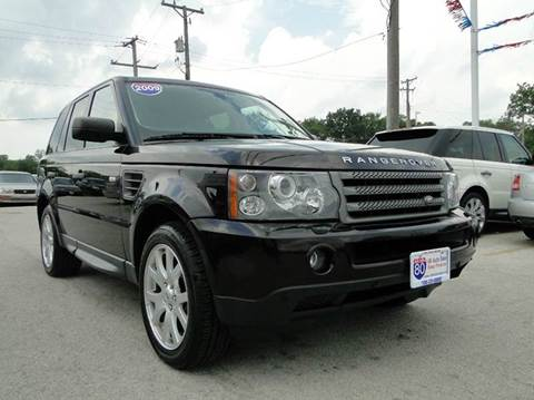 2009 Land Rover Range Rover Sport for sale at I-80 Auto Sales in Hazel Crest IL