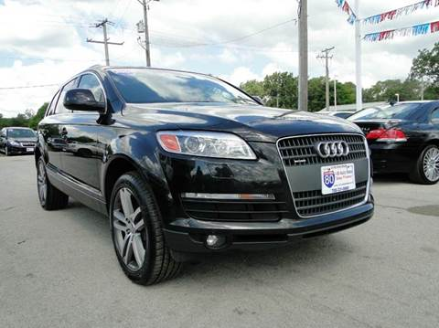2009 Audi Q7 for sale at I-80 Auto Sales in Hazel Crest IL