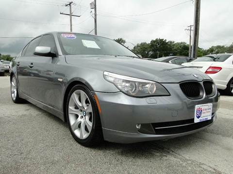 2008 BMW 5 Series for sale at I-80 Auto Sales in Hazel Crest IL