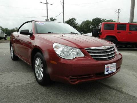 2009 Chrysler Sebring for sale at I-80 Auto Sales in Hazel Crest IL