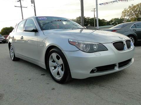 2006 BMW 5 Series for sale at I-80 Auto Sales in Hazel Crest IL