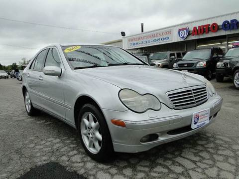 2002 Mercedes-Benz C-Class for sale at I-80 Auto Sales in Hazel Crest IL