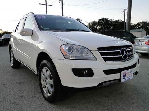 2007 Mercedes-Benz M-Class for sale at I-80 Auto Sales in Hazel Crest IL