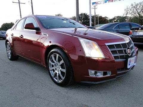 2009 Cadillac CTS for sale at I-80 Auto Sales in Hazel Crest IL