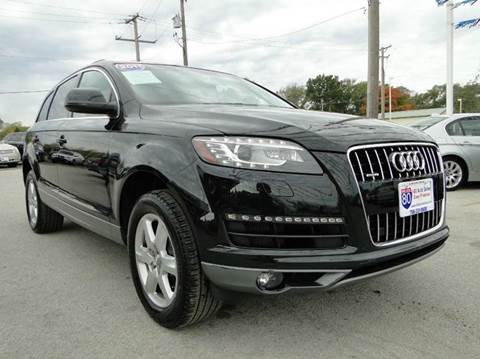 2011 Audi Q7 for sale at I-80 Auto Sales in Hazel Crest IL