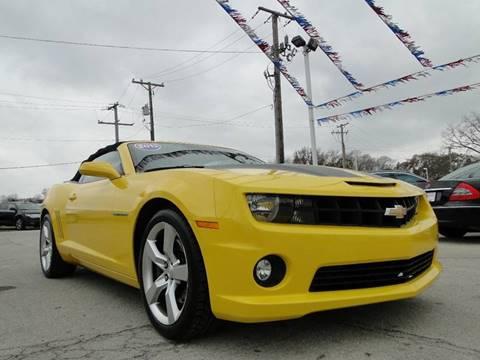 2012 Chevrolet Camaro for sale at I-80 Auto Sales in Hazel Crest IL