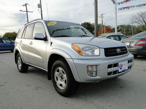 2002 Toyota RAV4 for sale at I-80 Auto Sales in Hazel Crest IL