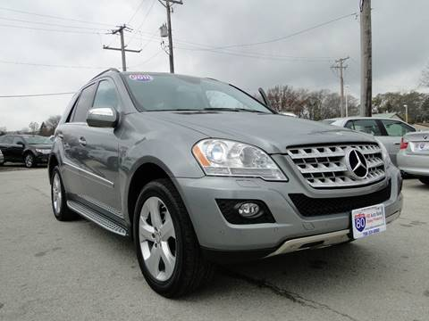 2010 Mercedes-Benz M-Class for sale at I-80 Auto Sales in Hazel Crest IL