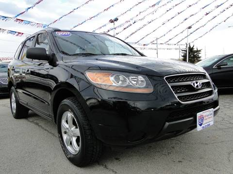 2007 Hyundai Santa Fe for sale at I-80 Auto Sales in Hazel Crest IL