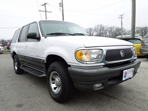 1998 Mercury Mountaineer for sale at I-80 Auto Sales in Hazel Crest IL