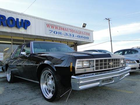 1977 Chevrolet Impala for sale at I-80 Auto Sales in Hazel Crest IL