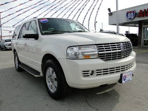 2007 Lincoln Navigator for sale at I-80 Auto Sales in Hazel Crest IL
