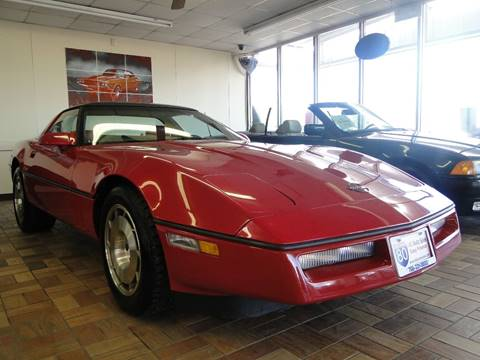 1986 Chevrolet Corvette for sale at I-80 Auto Sales in Hazel Crest IL