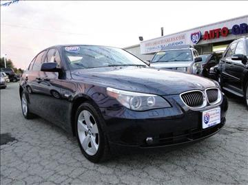 2007 BMW 5 Series for sale at I-80 Auto Sales in Hazel Crest IL