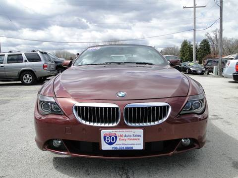 2005 BMW 6 Series for sale at I-80 Auto Sales in Hazel Crest IL