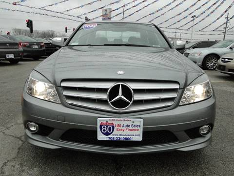 2008 Mercedes-Benz C-Class for sale at I-80 Auto Sales in Hazel Crest IL