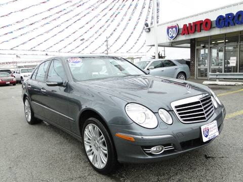 2008 Mercedes-Benz E-Class for sale at I-80 Auto Sales in Hazel Crest IL