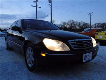 2002 Mercedes-Benz S-Class for sale at I-80 Auto Sales in Hazel Crest IL