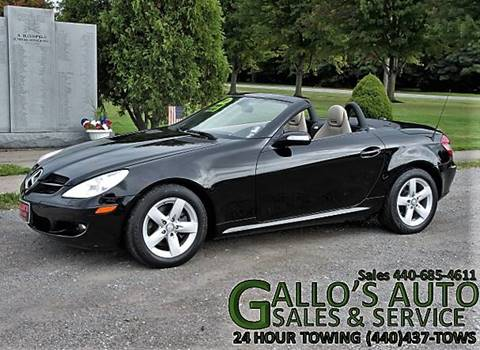2008 Mercedes-Benz SLK for sale in North Bloomfield, OH