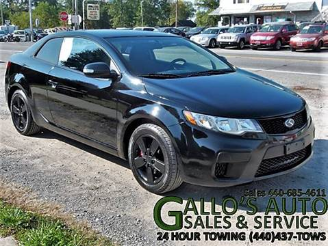 2010 Kia Forte Koup for sale in North Bloomfield, OH