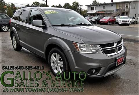 2012 Dodge Journey for sale in North Bloomfield, OH