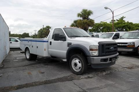 2008 Ford F-450 for sale in Hollywood, FL