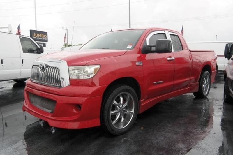 2007 Toyota Tundra for sale at Jumbo Auto & Truck Plaza in Hollywood FL