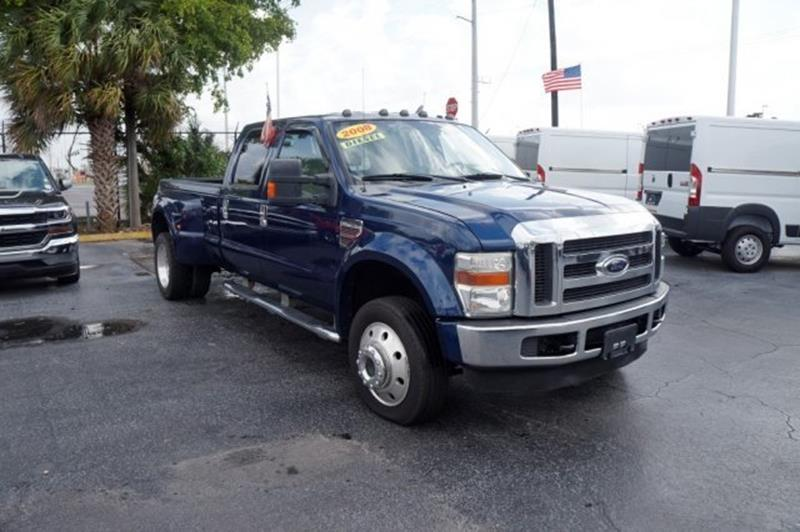 2008 Ford F-450 Super Duty for sale at Jumbo Auto & Truck Plaza in Hollywood FL