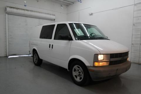 2005 Chevrolet Astro Cargo for sale in Hollywood, FL