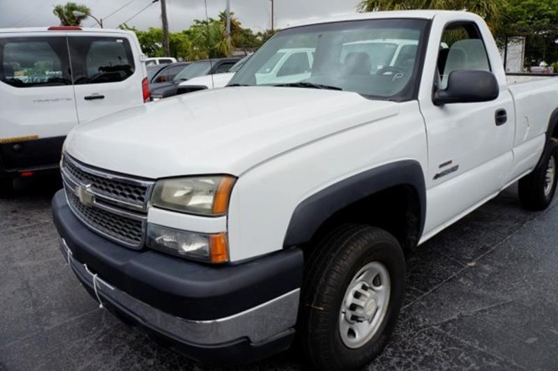 2005 Chevrolet Silverado 2500HD for sale at Jumbo Auto & Truck Plaza in Hollywood FL