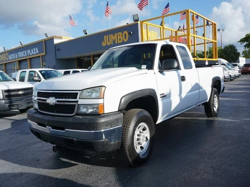 2006 Chevrolet Silverado 3500 for sale at Jumbo Auto & Truck Plaza in Hollywood FL