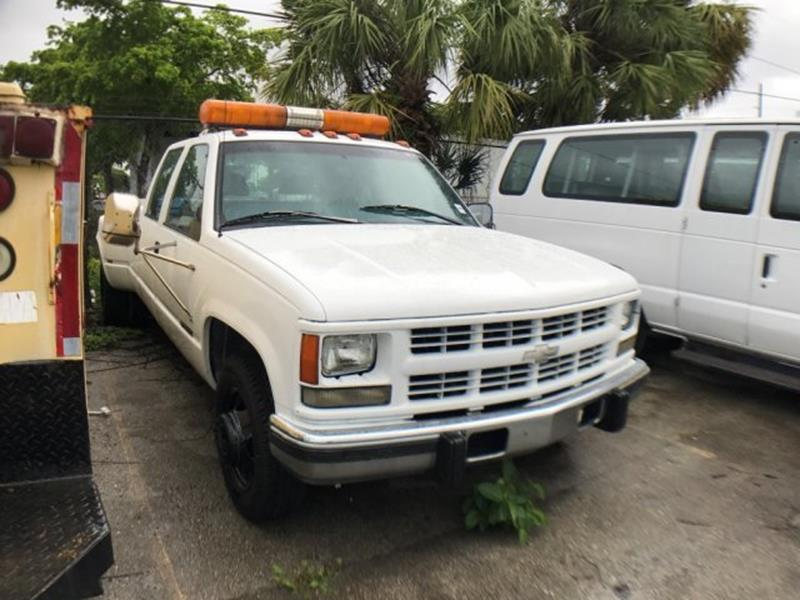 1998 Chevrolet C/K 3500 Series for sale at Jumbo Auto & Truck Plaza in Hollywood FL