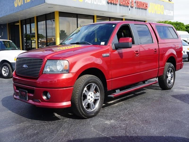 2008 Ford F-150 for sale at Jumbo Auto & Truck Plaza in Hollywood FL