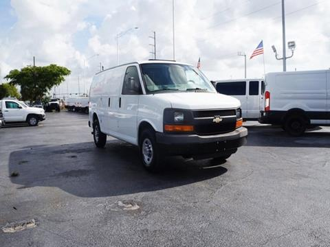 2015 Chevrolet Express Cargo for sale in Hollywood, FL