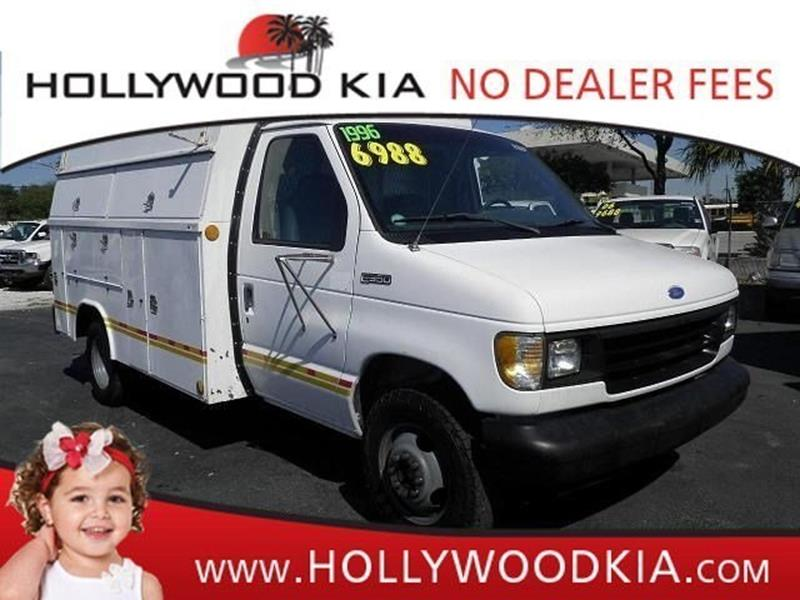 1996 Ford Econoline RV Cutaway for sale at Jumbo Auto & Truck Plaza in Hollywood FL