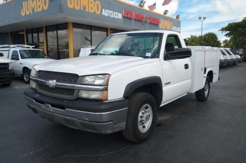 2004 Chevrolet Silverado 2500 for sale at Jumbo Auto & Truck Plaza in Hollywood FL