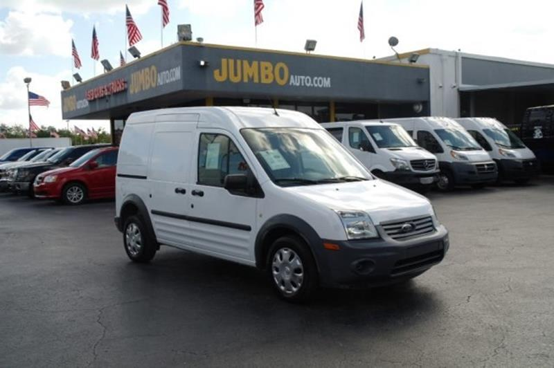 2013 Ford Transit Connect Cargo Van Xl In Hollywood Fl Jumbo Auto