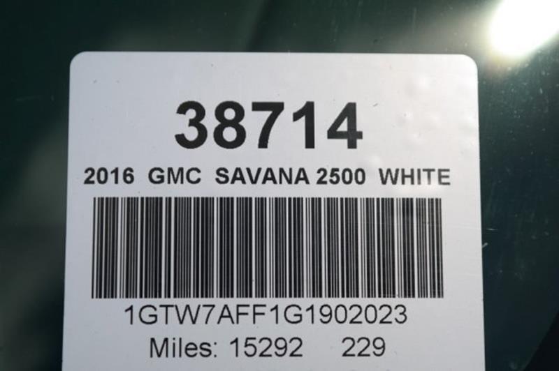 2016 GMC Savana Cargo for sale at Jumbo Auto & Truck Plaza in Hollywood FL