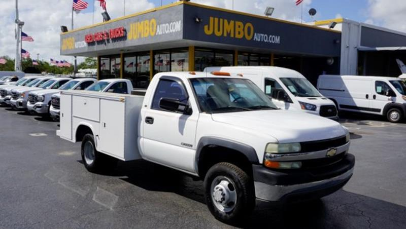 2002 Chevrolet Silverado 3500 for sale at Jumbo Auto & Truck Plaza in Hollywood FL