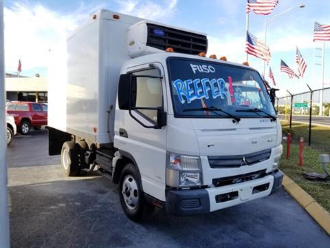 2013 Mitsubishi Fuso FEC52S for sale in Hollywood, FL