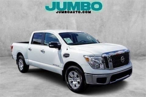 2017 Nissan Titan for sale at Jumbo Auto & Truck Plaza in Hollywood FL