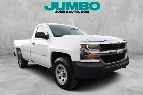 2016 Chevrolet Silverado 1500 for sale at Jumbo Auto & Truck Plaza in Hollywood FL