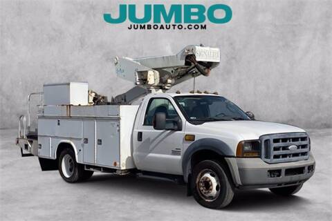 2006 Ford F-550SD for sale at Jumbo Auto & Truck Plaza in Hollywood FL