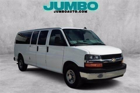 2017 Chevrolet Express Passenger for sale at Jumbo Auto & Truck Plaza in Hollywood FL