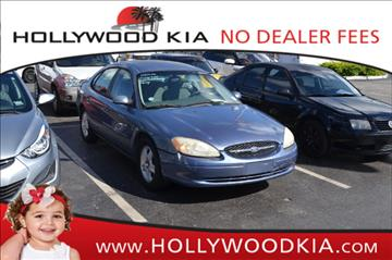 2000 Ford Taurus for sale in Hollywood, FL