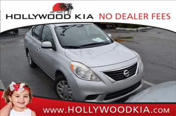 2012 Nissan Versa for sale in Hollywood, FL