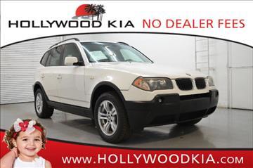 2004 BMW X3 for sale in Hollywood, FL
