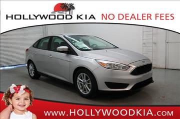 2016 Ford Focus for sale in Hollywood, FL